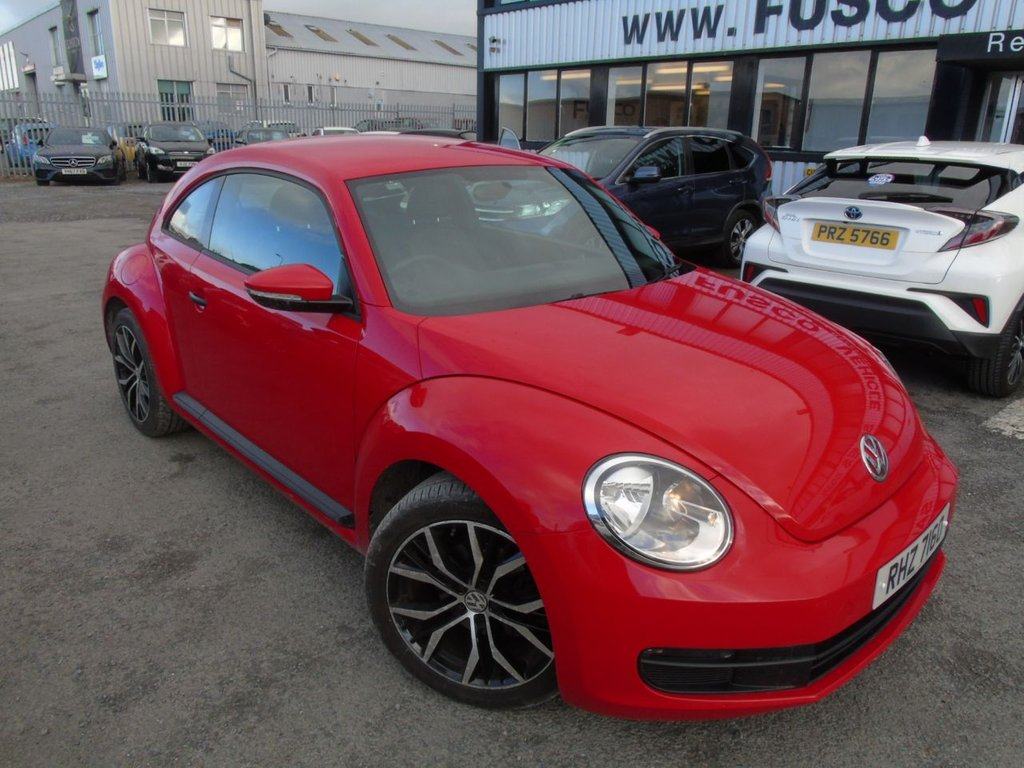USED 2013 VOLKSWAGEN BEETLE 1.6 TDI BLUEMOTION TECHNOLOGY 3d 104 BHP £181 a month, T&Cs apply.