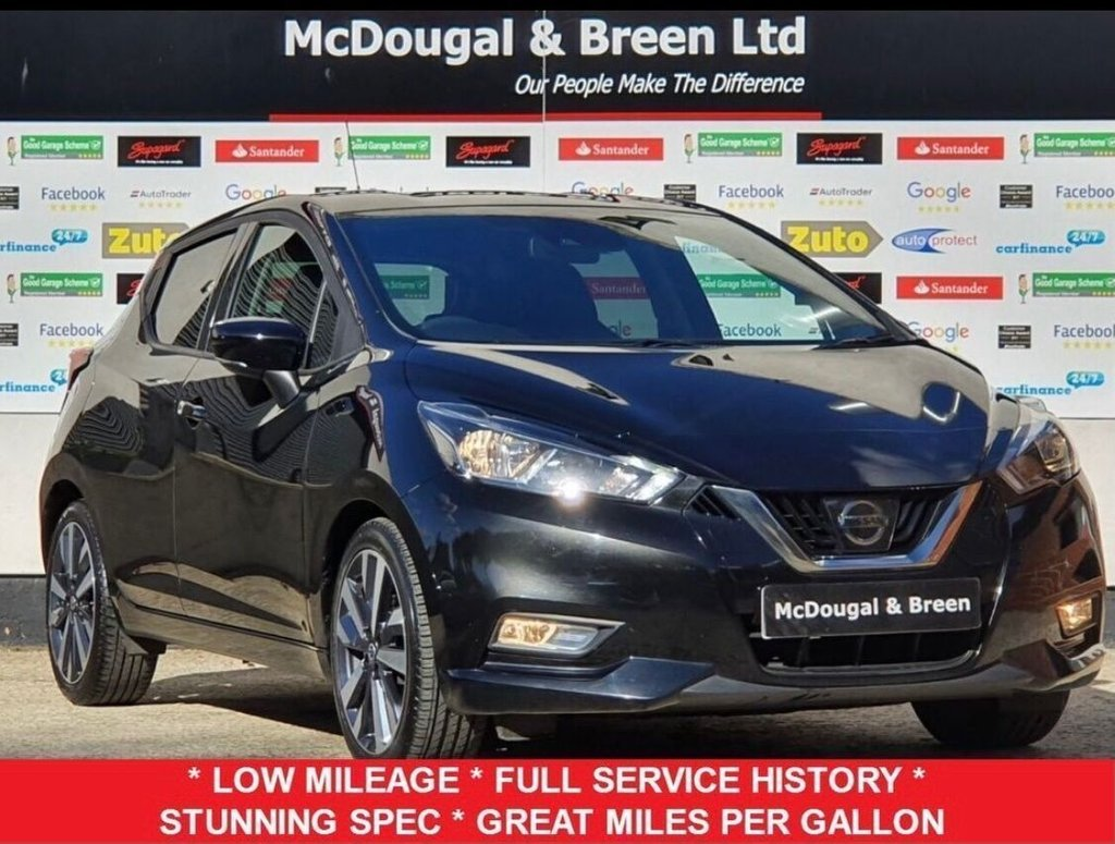 USED 2017 67 NISSAN MICRA 1.5 DCI TEKNA 5d 90 BHP