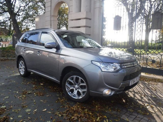 USED 2015 64 MITSUBISHI OUTLANDER 2.0 PHEV GX 4H 5d 162 BHP FINANCE ARRANGED**PART EXCHANGE WELCOME**4WD**£0 TAX**REVERSING CAMERA**FULL LEATHER**NAV**CRUISE**