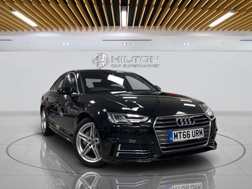 "USED 2016 66 AUDI A4 2.0 TDI S LINE 4d 188 BHP Automatic Transmission, Navigation System,18"" Alloy Wheels, Half -Leather Seats, Parking Sensor(s), Climate Control"