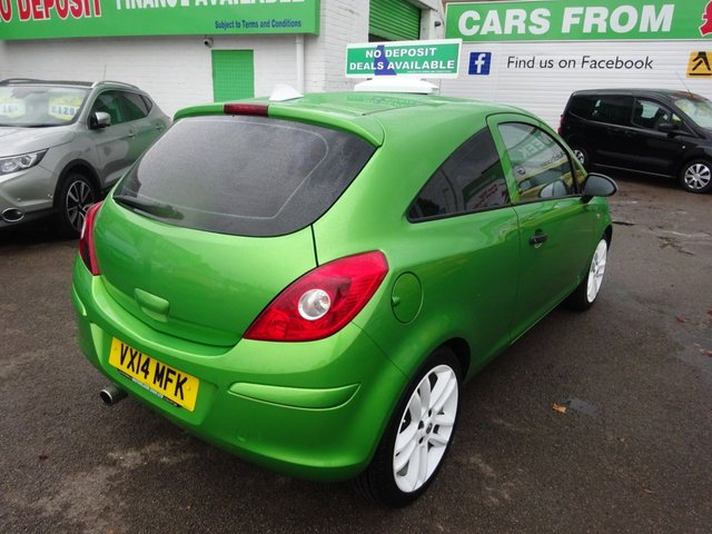 USED 2014 14 VAUXHALL CORSA 1.2 STING 3d 83 BHP **  JUST ARRIVED ** CALL 01543 877320**