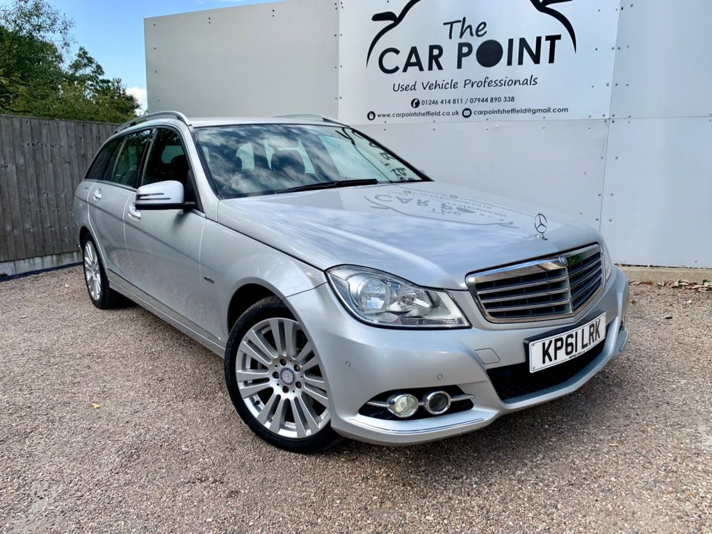 USED 2011 61 MERCEDES-BENZ C 220 C220 CDI BlueEFFICIENCY Edition 125 G-Tronic 5dr