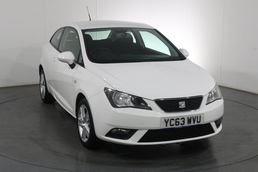 USED 2013 63 SEAT IBIZA 1.4 TOCA 3d 85 BHP 2 Owners From New with 5 Stamp Service History.