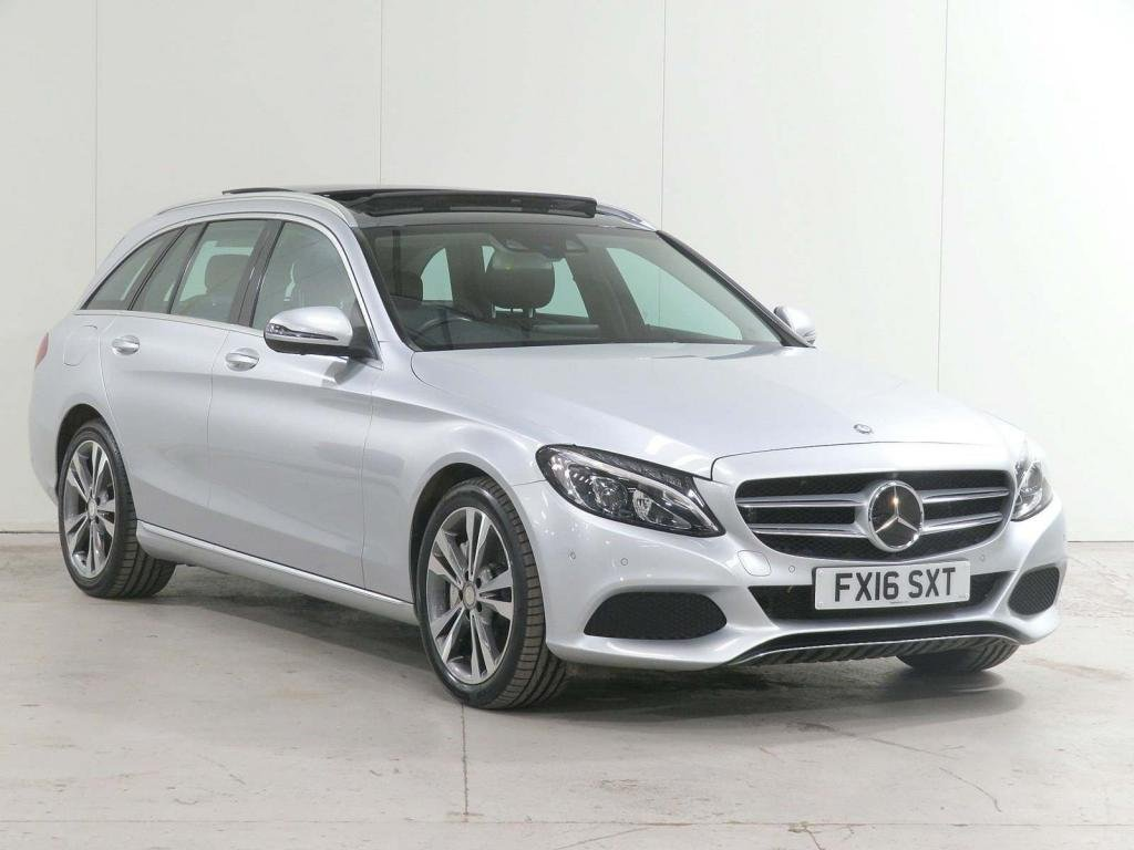 USED 2016 16 MERCEDES-BENZ C-CLASS 2.0 C350e 6.4kWh Sport (Premium Plus) G-Tronic+ (s/s) 5dr 18in Alloy £7,255 EXTRAS*DISTRONIC*360CAM