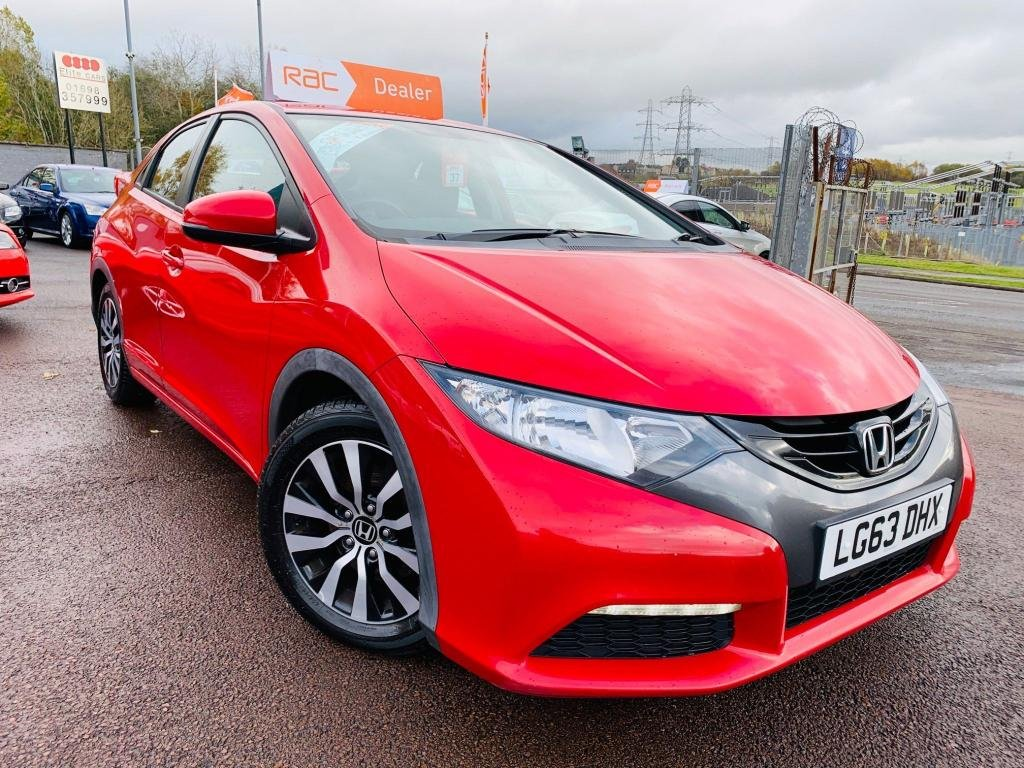 USED 2013 63 HONDA CIVIC 1.6 i-DTEC SE-T 5dr Drive away today