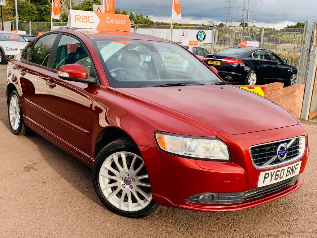 USED 2010 60 VOLVO S40 2.0 D3 SE Lux 4dr Drive away today