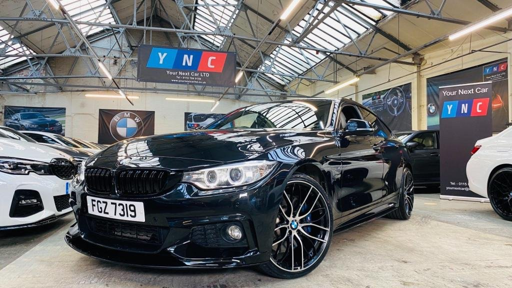 USED 2017 BMW 4 SERIES 3.0 435d M Sport Gran Coupe Sport Auto xDrive (s/s) 5dr PERFORMANCEKIT+REVCAM+20S
