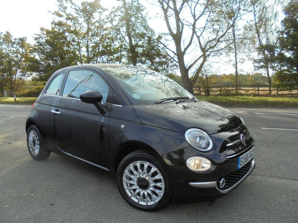 USED 2016 66 FIAT 500 1.2 LOUNGE 3d 69 BHP