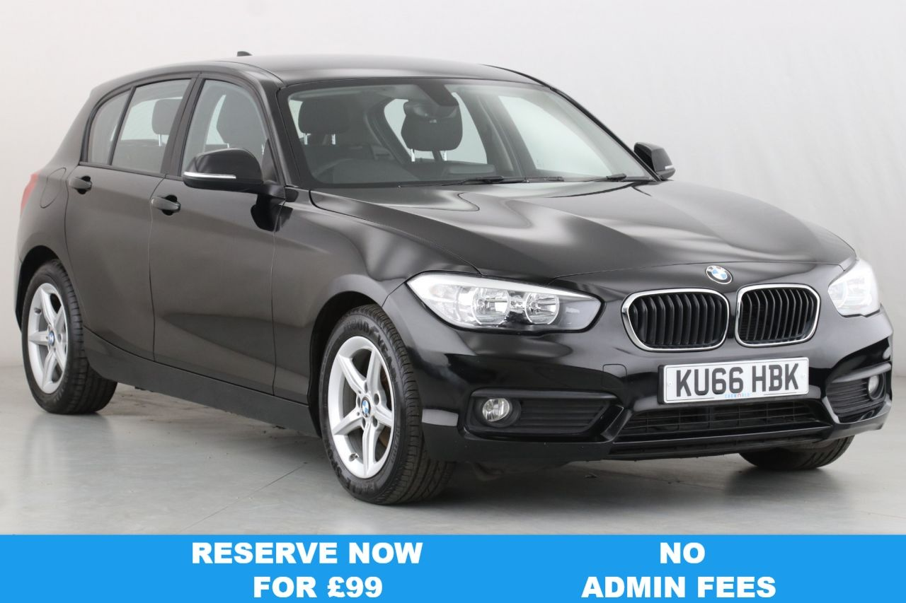 USED 2016 66 BMW 1 SERIES 1.5 116D ED PLUS 5d 114 BHP 1 OWNER | SAT NAV | DAB |