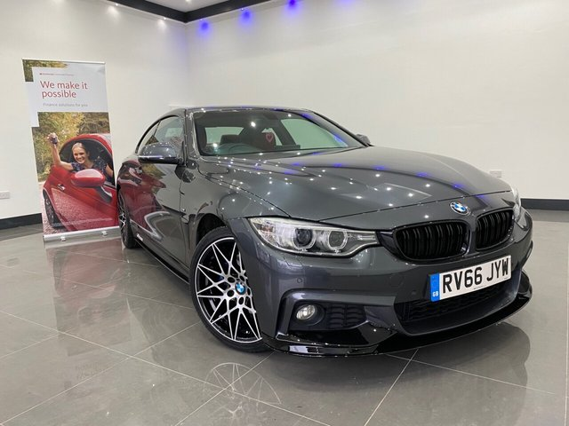 USED 2016 66 BMW 4 SERIES 3.0 430D M SPORT 2d 255 BHP Full M Performance Body Kit