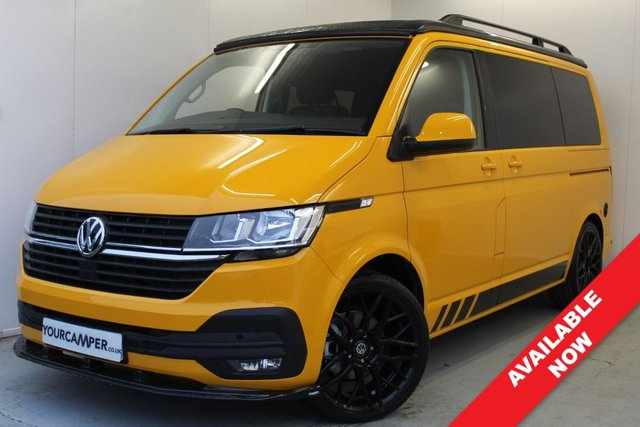 USED 2020 70 VOLKSWAGEN TRANSPORTER T28 2.0 TDI HIGHLINE TAILGATE 109 BHP DELIVERY MILES / SINGLE FRONT SEATS / TAILGATE / HEATER