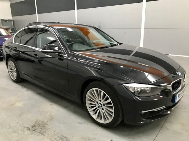 2013 13 BMW 3 SERIES 2.0 318D LUXURY 4d 141 BHP