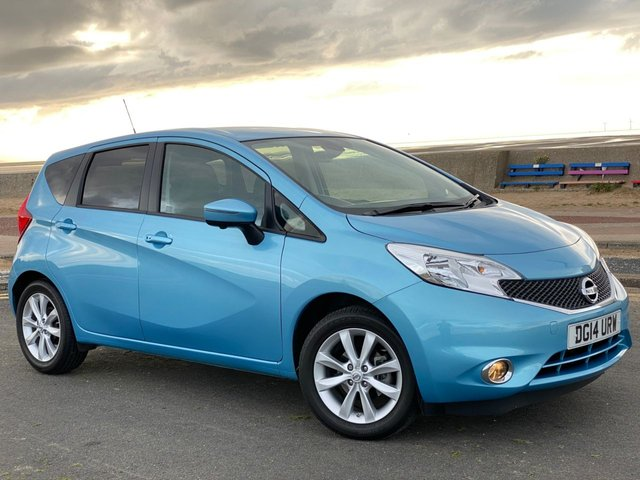 USED 2014 14 NISSAN NOTE 1.2 TEKNA DIG-S 5d INCREDIBLE LOW MILEAGE!