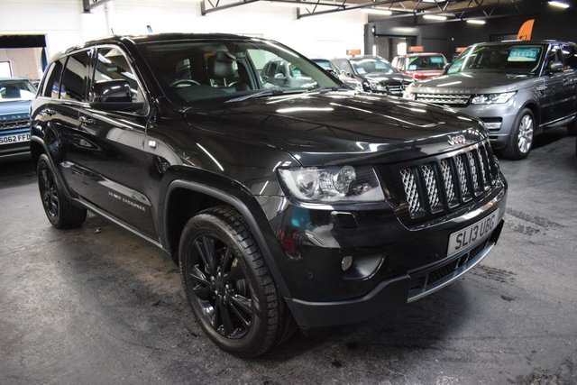USED 2013 13 JEEP GRAND CHEROKEE 3.0 V6 CRD S-LIMITED 5d 237 BHP RARE S LIMITED SPEC - ONE PREVIOUS KEEPER - 7 JEEP SERVICE STAMPS TO 66K - LEATHER/ALCANTARA - NAV - HEATED SEATS - HEATED STEERING WHEEL