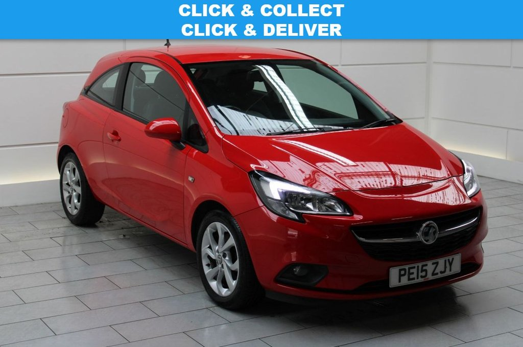 USED 2015 15 VAUXHALL CORSA 1.0i Turbo ecoFLEX Excite start/stop (a/c)