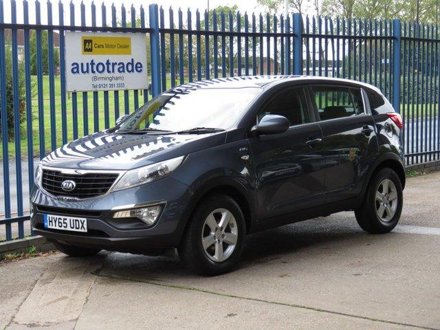 USED 2015 65 KIA SPORTAGE 2.0 CRDI KX-1 5d 134 BHP 4 X 4 FOUR WHEEL DRIVE, LED daytime running lights, Cruise control, Bluetooth connectivity + voice control