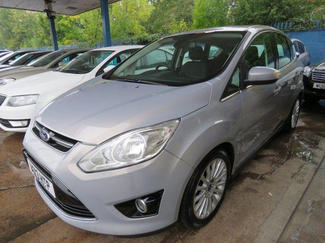 USED 2013 13 FORD C-MAX 1.6 TITANIUM TDCI 5dr 114 DAB Cruise Bluetooth & USB, Alloys Finance arranged Part exchange available Open 7 days