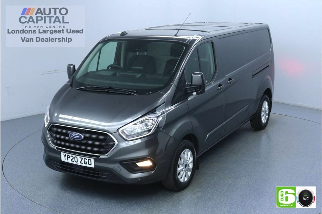 USED 2020 20 FORD TRANSIT CUSTOM 2.0 320 Limited EcoBlue 130 BHP L2 H1 Euro 6 Low Emission Eco Mode   Auto Start-Stop   Front and rear parking distance sensors