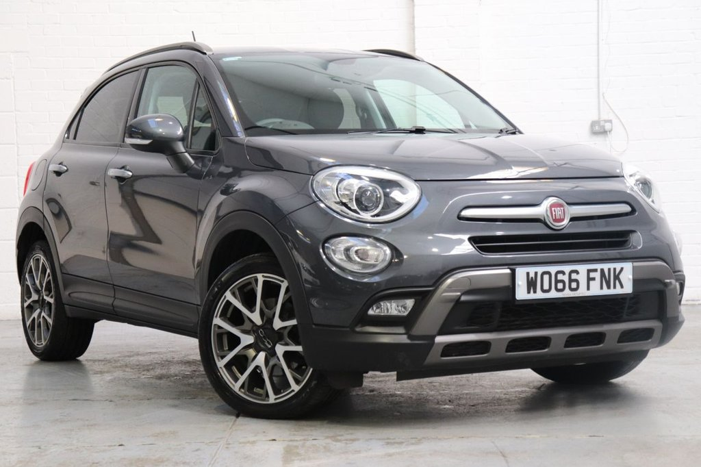 USED 2016 66 FIAT 500X 1.4 MULTIAIR CROSS PLUS 5d 140 BHP Satnav + Parking Aid + Cruise + Dab