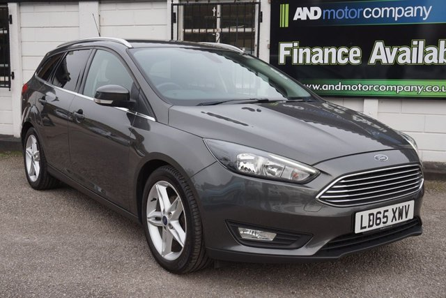 """USED 2015 65 FORD FOCUS 1.5 ZETEC TDCI 5d 118 BHP 6 Service Stamps, Appearance Pack with 17"""" Alloys, DAB"""