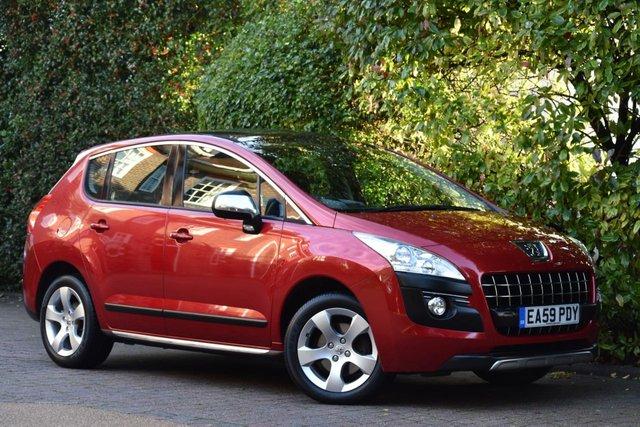 2009 59 PEUGEOT 3008 1.6 EXCLUSIVE 5d 155 BHP