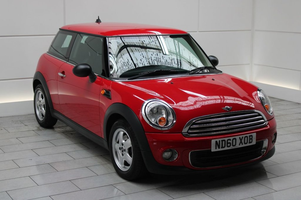 USED 2010 60 MINI HATCH ONE 1.6 One (Pepper) 3dr [PEPPER PACK]