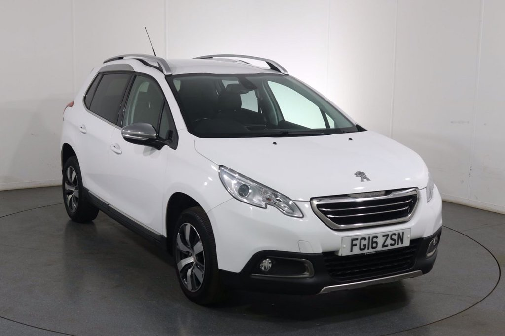 USED 2016 16 PEUGEOT 2008 1.6 BLUEHDI ALLURE 5dr 100BHP Demo and 2 OWNERS with 5 Stamp SERVICE HISTORY