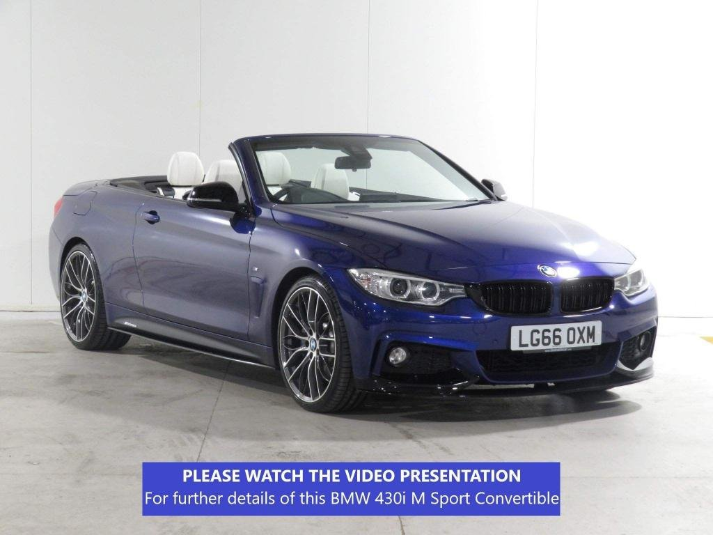 USED 2016 66 BMW 4 SERIES 2.0 430i M Sport 2dr £10,655 XTRA*ONE OF A KIND CAR