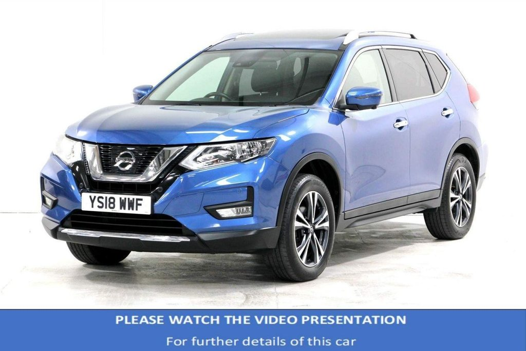 USED 2018 18 NISSAN X-TRAIL 1.6 dCi N-Connecta (s/s) 5dr PANORAMIC SUNROOF/FULL-HISTORY