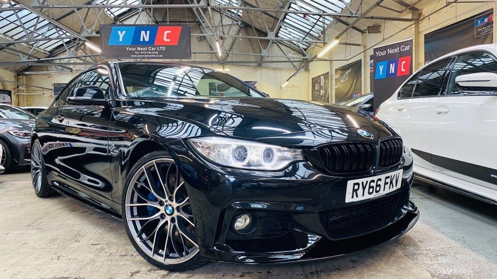 USED 2017 66 BMW 4 SERIES 3.0 430d M Sport 2dr PERFORMANCEKIT+20S+PLUSPACK