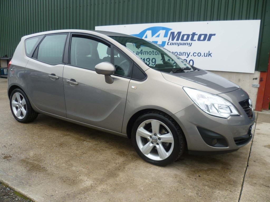 USED 2013 63 VAUXHALL MERIVA 1.4 i 16v Tech Line 5dr (a/c) LOW- MILEAGE , 5-DOOR  HATCH