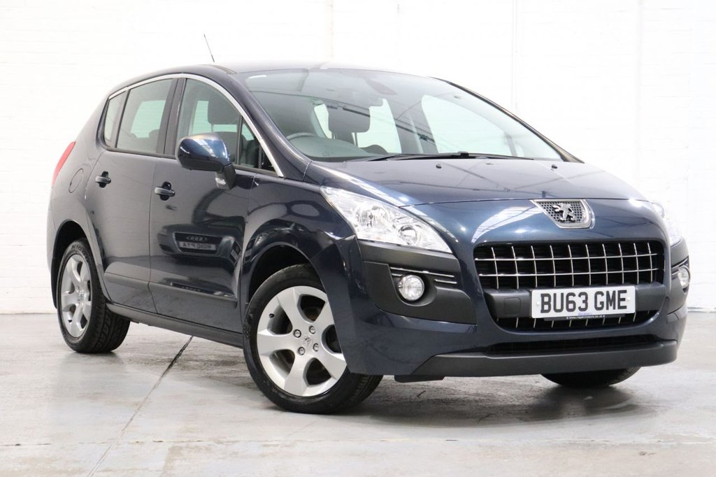 USED 2013 63 PEUGEOT 3008 1.6 HDI ACTIVE 5d 115 BHP Parking Aid + Cruise+ Long Mot