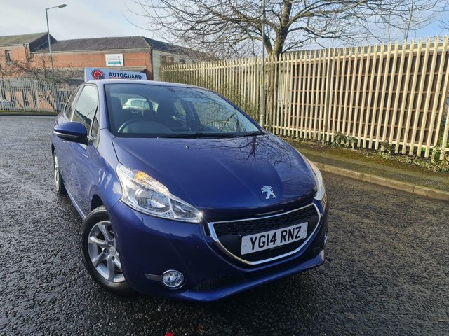USED 2014 14 PEUGEOT 208 1.2 ACTIVE 3d 82 BHP A GREAT ECONOMICAL VEHICLE