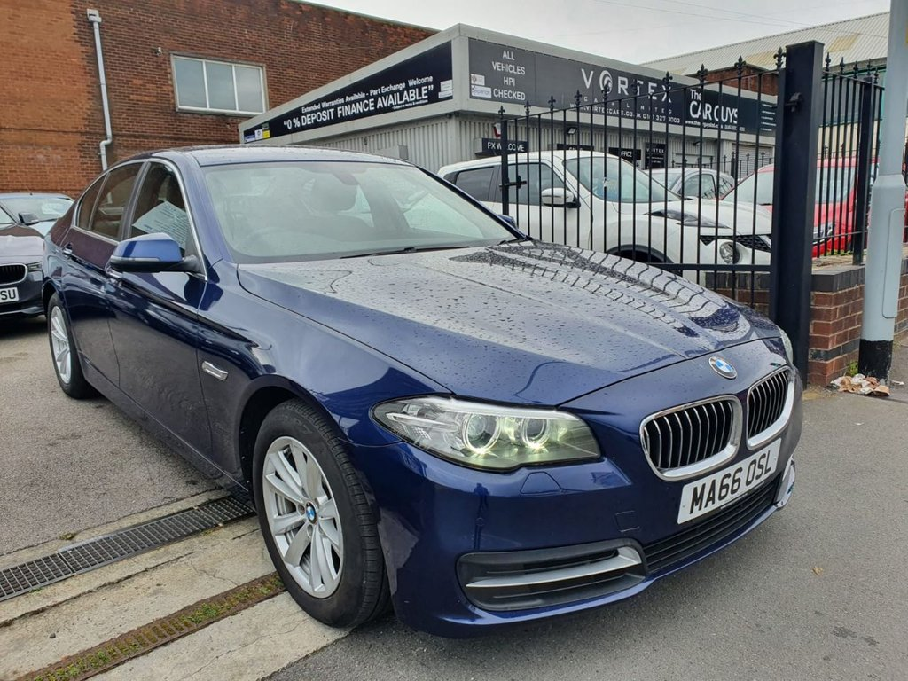 USED 2016 66 BMW 5 SERIES 2.0 520D SE 4d 188 BHP GREAT SPEC + LOW MILEAGE