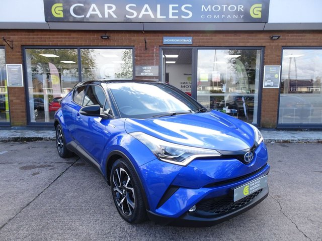 USED 2017 17 TOYOTA CHR 1.8 DYNAMIC 5d 122 BHP 1 OWNER, FULL TOYOTA SERVICE HISTORY, SAT NAV, REVERSE CAMERA, BLUETOOTH, CRUISE CONTROL, DAB RADIO, MOT TILL AUGUST 2021, HPI CLEAR, 2 REMOTE KEYS