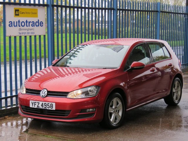 USED 2015 VOLKSWAGEN GOLF 1.6 MATCH TDI BLUEMOTION TECHNOLOGY 5d 109 BHP DAB, Bluetooth, SD Card Reader, USB and Aux In