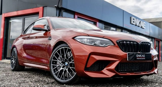 2019 19 BMW M2 3.0 M2 COMPETITION 2d 405 BHP