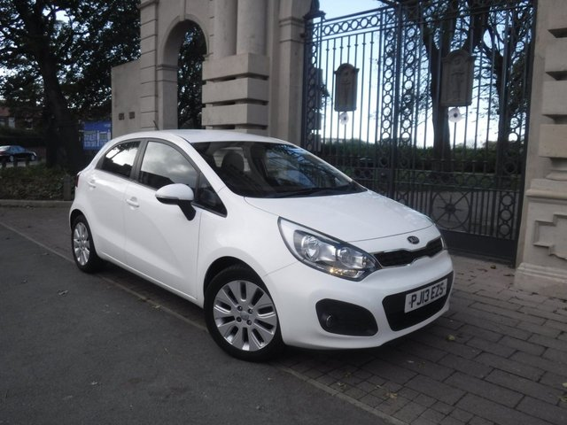 USED 2013 13 KIA RIO 1.2 2 5d 83 BHP FINANCE ARRANGED**PART EXCHANGE WELCOME**£30 ROAD TAX**SERVICE HISTORY**BLUETOOTH**AUX**USB**CD PLAYER