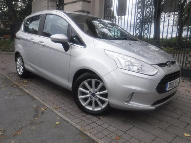 USED 2015 15 FORD B-MAX 1.6 TITANIUM 5d 104 BHP *** FINANCE & PART EXCHANGE WELCOME *** BLUETOOTH PHONE PARKING SENSORS HEATED FRONT WINDSCREEN AIR/CON CRUISE CONTROL DAB RADIO AUX & USB SOCKETS