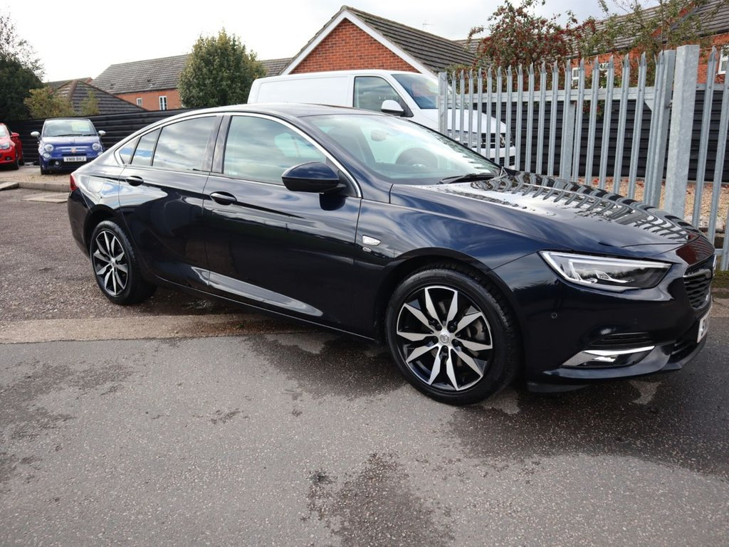 USED 2018 18 VAUXHALL INSIGNIA 2.0 GRAND SPORT ELITE NAV 5d 168 BHP ONE OWNER FROM NEW TOP SPEC ULEZ COMPLIANT £150 ROAD TAX