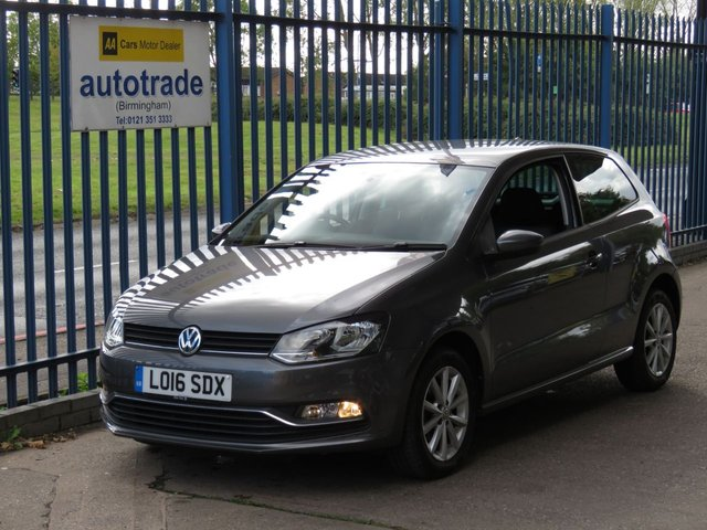 USED 2016 16 VOLKSWAGEN POLO 1.2 MATCH TSI 3d 89 BHP DAB, Bluetooth, Front and Rear Parking Sensors, Cruise Control, USB and Aux In