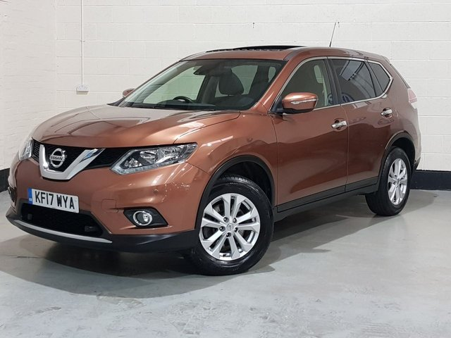 USED 2017 17 NISSAN X-TRAIL 2.0 ACENTA DCI XTRONIC 5d 175 BHP 1 Owner/ Panoramic Roof/ Sat-Nav/ Park Sensors/ 7 Seats