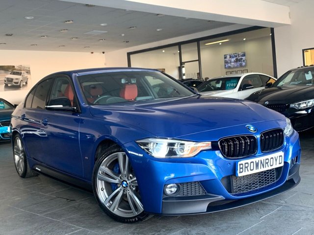 USED 2017 17 BMW 3 SERIES 2.0 330E M SPORT 4d 181 BHP BM PERFORMANCE STYLING+6.9%APR