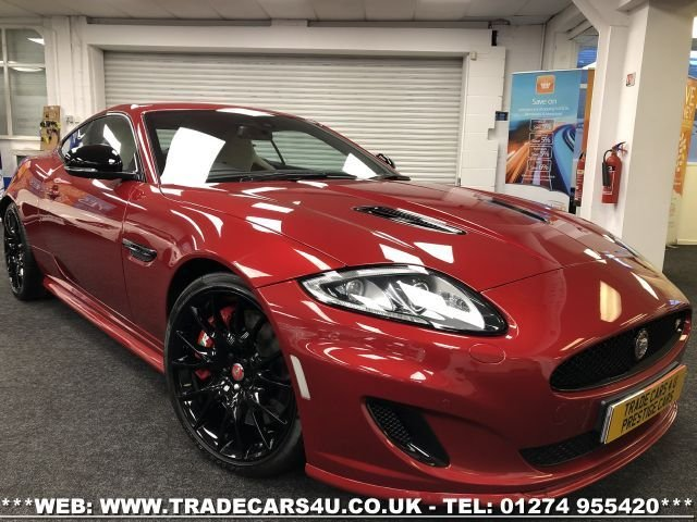 USED 2014 64 JAGUAR XK 5.0 DYNAMIC R 2d 503 BHP FREE UK DELIVERY*VIDEO AVAILABLE* FINANCE ARRANGED* PART EX*HPI CLEAR