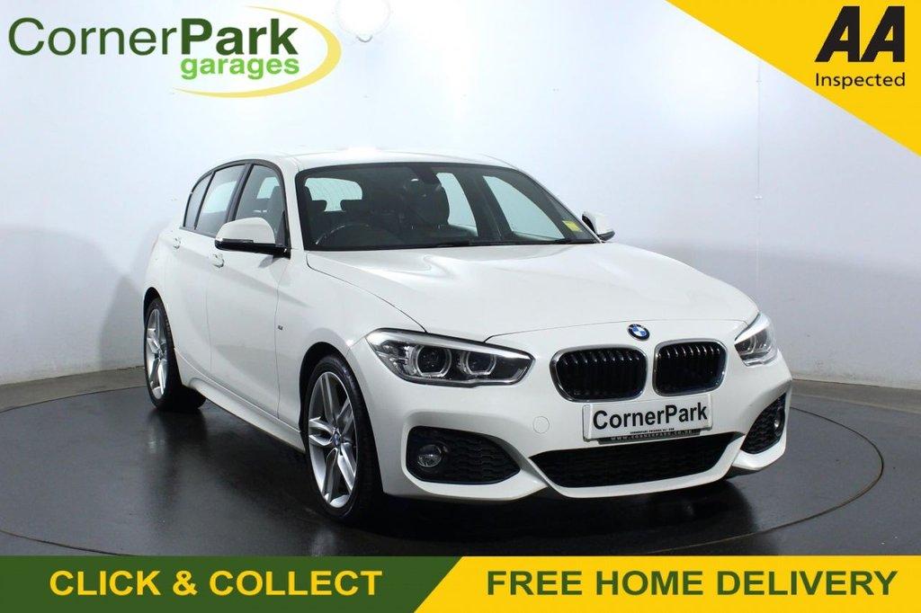 USED 2017 17 BMW 1 SERIES 2.0 118D M SPORT 5d 147 BHP