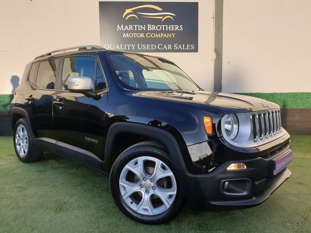 USED 2016 16 JEEP RENEGADE 1.4 LIMITED 5d 138 BHP