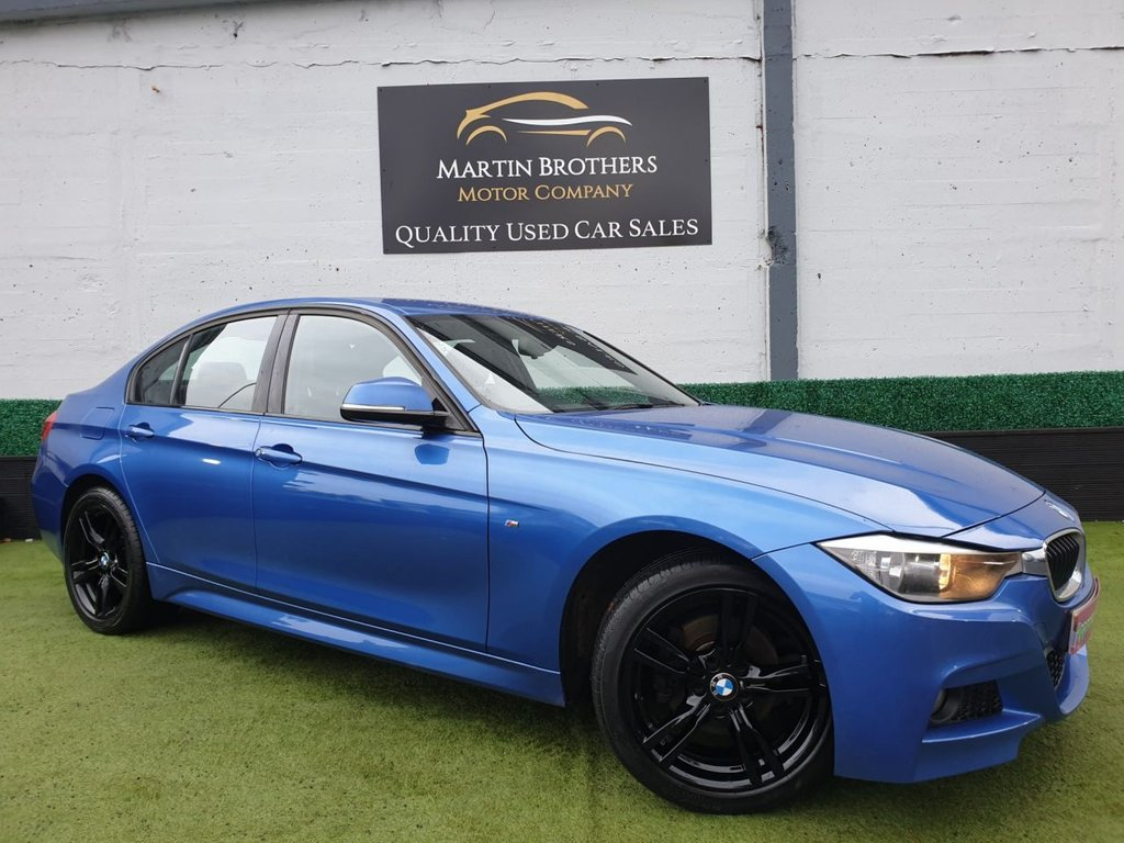 USED 2014 63 BMW 3 SERIES 2.0 320D XDRIVE M SPORT 4d 181 BHP
