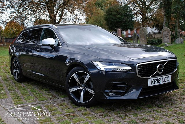 2018 18 VOLVO V90 2.0 D4 R DESIGN [190 BHP] GEARTRONIC [AUTO] ESTATE