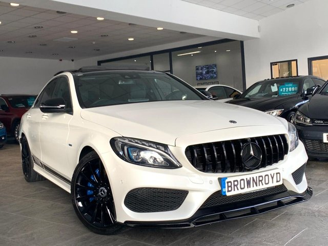 USED 2017 17 MERCEDES-BENZ C-CLASS 2.0 C 350 E AMG LINE PREMIUM PLUS 4d 275 BHP BRM BODY STYLING+PAN ROOF