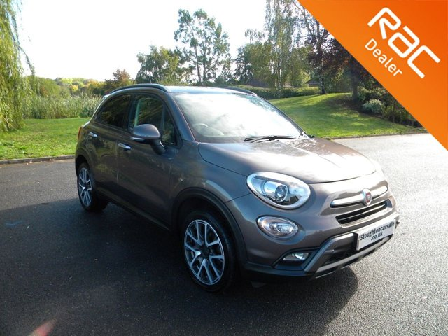 USED 2016 16 FIAT 500X 1.4 MULTIAIR CROSS PLUS 5d 140 BHP BY APPOINTMENT ONLY - Great Size Family Car, Half Leather Seats, Alloy Wheels, Cruise Control, Air Con, Bluetooth. DAB,